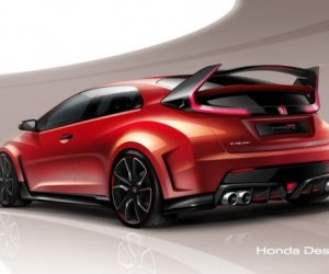 Honda Civic Type R скоро покажут в Женеве