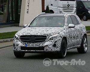 Первые шпионские снимки Mercedes-Benz GLC 63 AMG